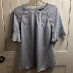 Banana Republic lilac silk shirt. Worn once!